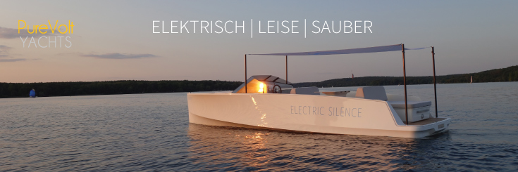 Elektrisches Design-Motorboot