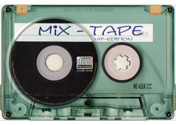 Mixtape with CD-R Frontside